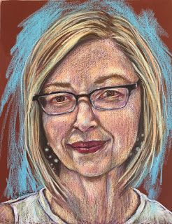 Lois in pastel, by Kim Blair