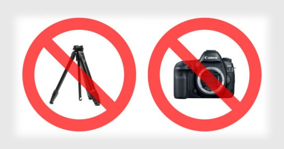 Resetting The Rules: 'Sorry, No Tripod' and 'Pro Cameras Not Allowed'