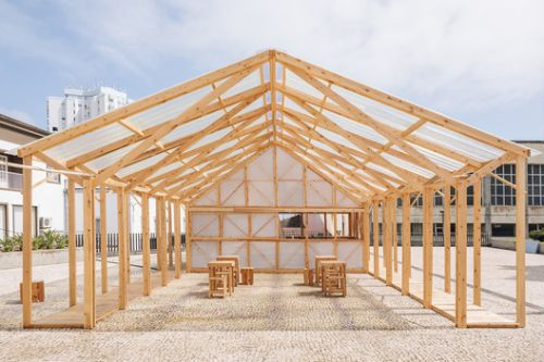 Temporary Home for Walk&Talk Festival / Mezzo Atelier