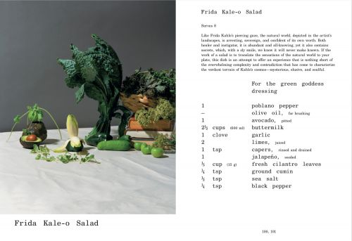 Le Corbuffet: Conceptual Cookbook Presents Art-Inspired Recipes as Contemporary Sculptures