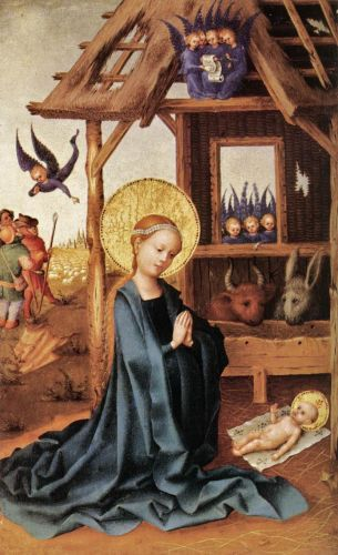 Madonnas attributed to Stefan Lochner 1400-1451