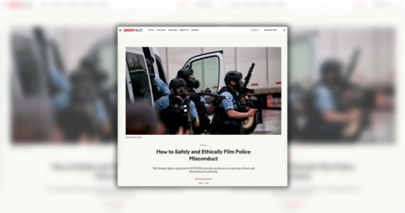Teen Vogue is Teaching People How to Safely Photograph Police Misconduct