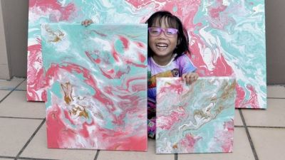 5-Year-Old Painter Has Already Sold Hundreds Of Dollars Worth Of Her Work