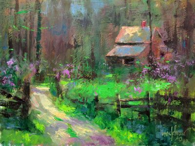 Road Trip: Painting Retreat Part 2 - Brown County, Indiana
