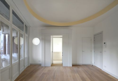Refurbishment of 3 Historical Buildings / Bovenbouw + Barbara Van Der Wee Architects