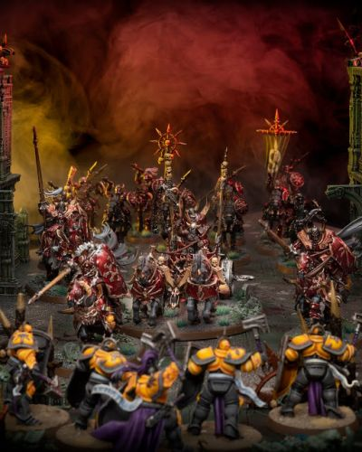 Showcase: Slaves to Darkness Chaos Chariot