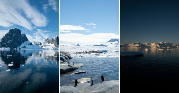 Using an iPhone to Document Climate Change in Antarctica