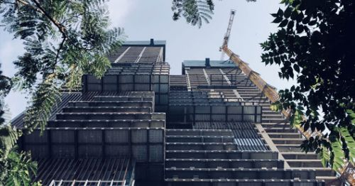 WOHA's First Office Skyscraper in China Tops Out in Shenzhen