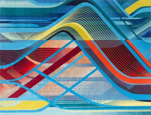 Zaha Hadid Architects Presents Interweaving Carpet Collection for Royal Thai during London Design Festival 2018