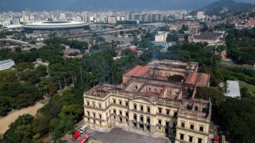 A Month After the Fire, The National Museum Receives Emergency Repair and Demands a Budget of $27 Million