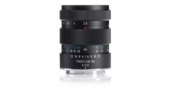 Meyer Optik is Back: New Trioplan 100 f/2.8 II Coming This Month, More to Follow