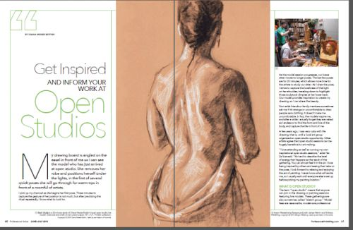 Newest Article in Professional Artist Magazine