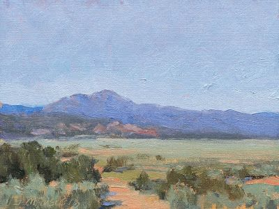 Sunlit Plains near Taos