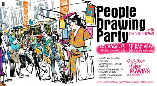 USk Workshop: People Drawing Party