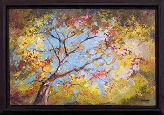"""New """"Party of One"""" Palette Knife Painting by Niki Gulley"""