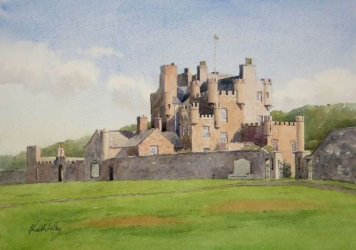 The Castle of Mey - a Drawing Challenge