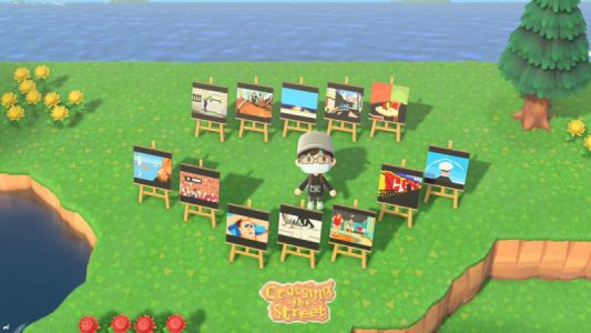 I Created a Virtual Street Photography Exhibition in Animal Crossing