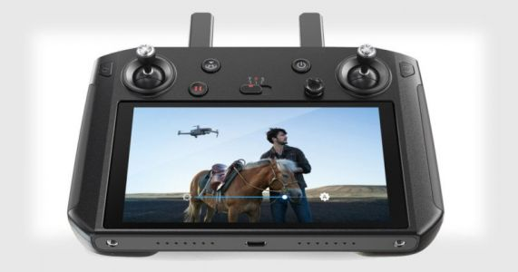 DJI's New Smart Controller Remote Has a Built-In 5.5″ Display