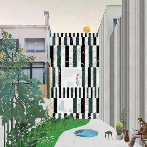 From Digital to Reality: A Comparison of FALA Alelier's Collages to the Actual Buildings