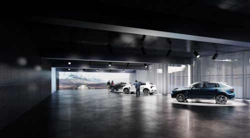 "Cobe Creates ""Chamber of Secrets"" for Automaker in Sweden"