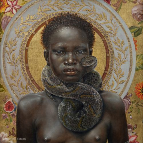 Memory and Self-Love Highlight Profound Portraits of Black Figures by Harmonia Rosales