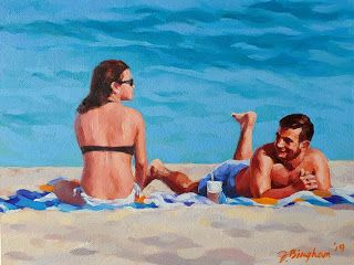 """Beach Couple""- 1"