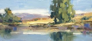 PANORAMA, IMPRESSIONIST LANDSCAPE by TOM BROWN