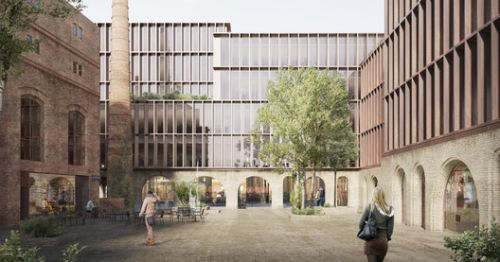 Schmidt Hammer Lassen Wins Competition for Redevelopment of Riga Historic Quarter