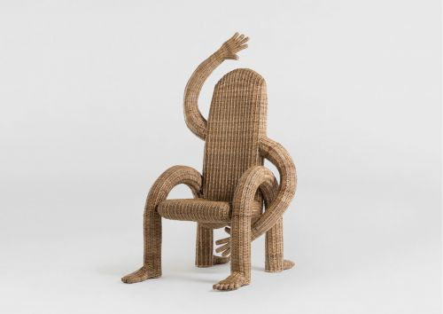 Playful Chairs Designed by Chris Wolston Impersonate the Humans Who Sit on Them