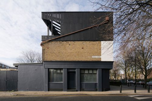 Artist's Studio in Stepney in London / Martin Edwards Architects