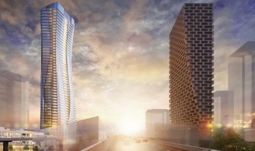 New Renderings Reveal Vancouver's 'Gateway Tower' Counterpart to BIG's Vancouver House