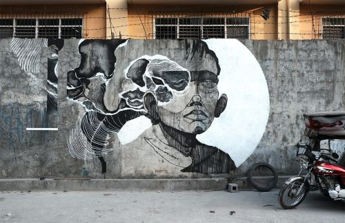 """Bawal Umihi Dito"" by Sepe in Quezon City, Philippines"
