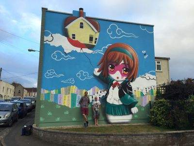 """Henrietta's Homecoming"" by Fin DAC in Bristol"