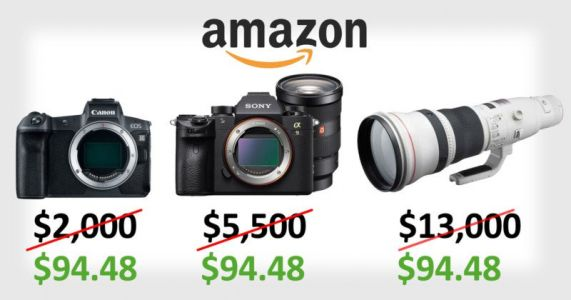 Amazon Accidentally Sold $13,000+ Camera Gear for $100 on Prime Day