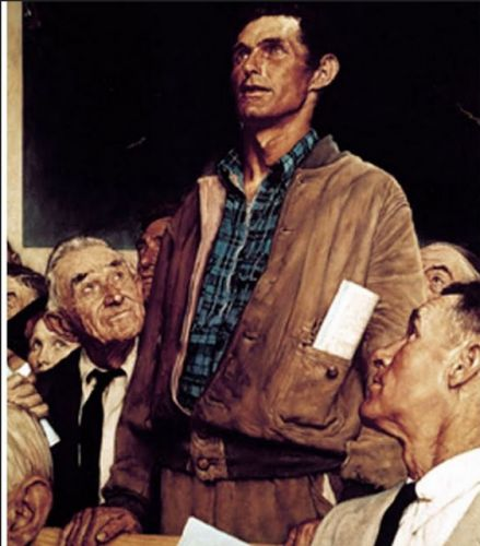 Nprman Rockwell's The Four Freedoms