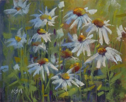 Throwback Thursday: My First Daisy Painting