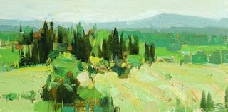 """Tuscany in yellow"""