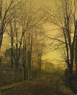 John Atkinson Grimshaw, October after glow