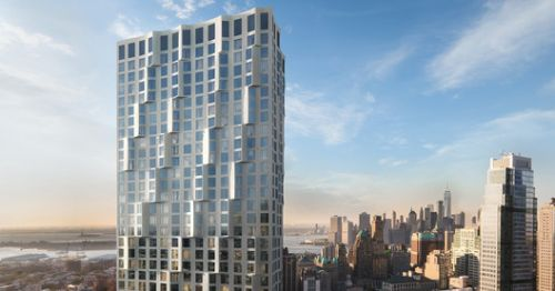 Studio Gang Unveils Images of Rippled Condominium Tower in Brooklyn, New York