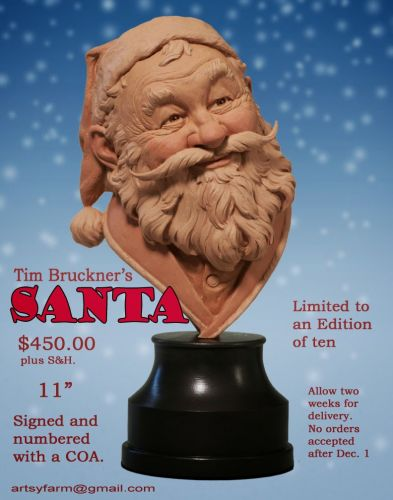 From the Tim Bruckner Shop: Santa Claus is Comin' to Town!