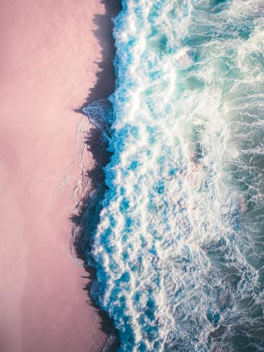 Aerial Photographs of Vast Ocean Landscapes by Tobias Hägg Observe Earth's Propensity for Change