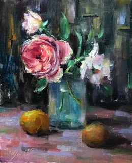 Garden Flowers by artist Pat Meyer