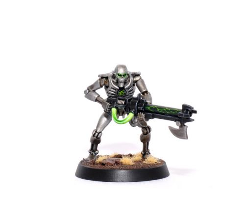 Showcase: Sautekh Dynasty Necron Warrior by FruitBear