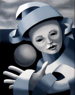Mark Webster - Gray Matter 7 - Abstract Grayscale Oil Painting