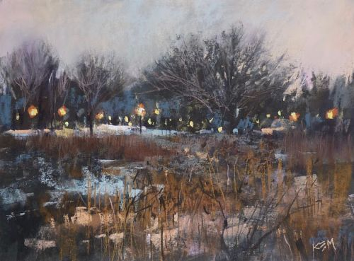 New YouTube Video Release! How to Paint a Moody Winter Landscape