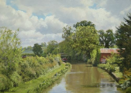 The Oxford Canal, by Paddock Farm