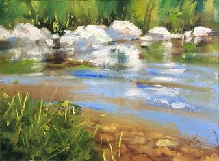 POND, STREAM, REFLECTIONS by TOM BROWN