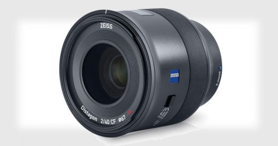 Zeiss Unveils the Batis 40mm f/2 Close Focus Lens for Sony FE