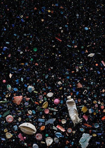 Artful Swirls of Plastic Marine Debris Documented in Images by Photographer Mandy Barker