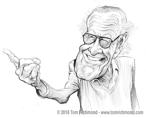 Sketch o'the Week- Stan Lee!